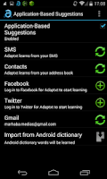 Screenshot of Adaptxt – Trial Keyboard