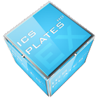 ADW APEX GO - 3D ICS Plates icon