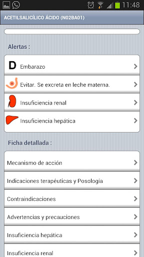 Vademecum Mobile 2.0 - screenshot