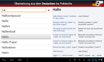 Screenshot of Deutsch-Polnisch? OK!