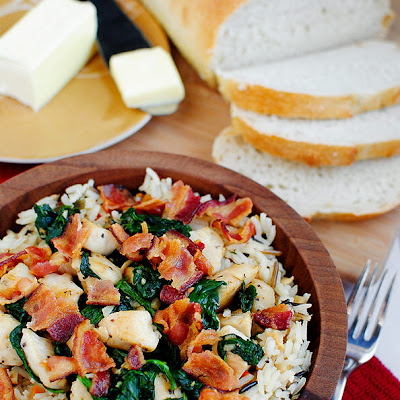 Chicken, Bacon & Rice Bowls