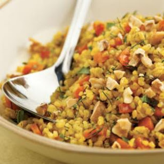 Fresh Herb & Lemon Bulgur Pilaf