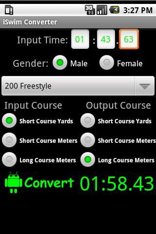 iSwim Converter