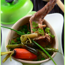Rabbit with Spring Vegetables