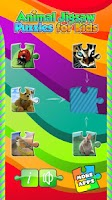 Screenshot of Animal Jigsaw Puzzles for Kids