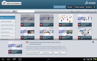 Screenshot of 3DS ACADEMY