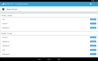 Screenshot of MDroid