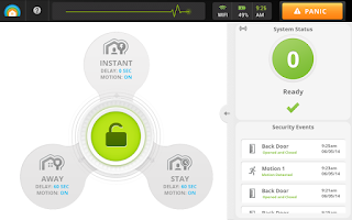 Screenshot of LifeShield