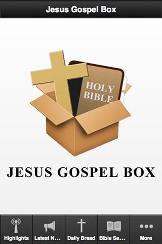 Jesus Gospel Box - FREE