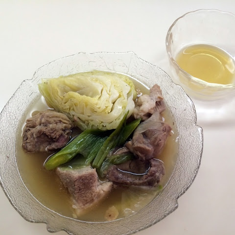 Beef Flank and Pork Shoulder Clear Soup