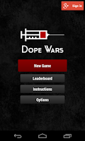 Screenshot of Dope Wars Classic