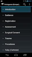 Screenshot of Portuguese (Europe) Medical