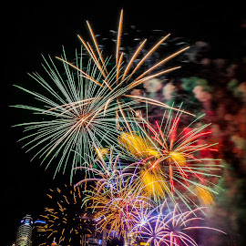 NDP Fireworks 2014 by Lye Danny - Abstract Fire & Fireworks