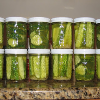 Refrigerator Cucumber Pickles Recipes