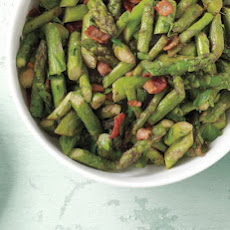 Sauteed Asparagus with Bacon