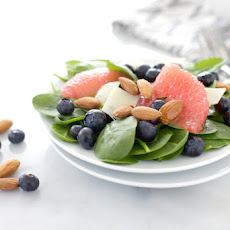 Almond, Blueberry and Grapefruit Salad