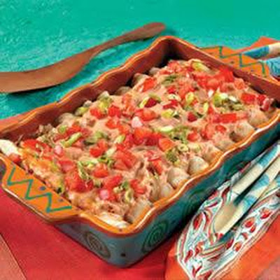 Campbell's Kitchen Creamy Chicken Enchiladas