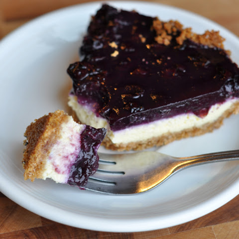 Blueberry Cheesecake Pie