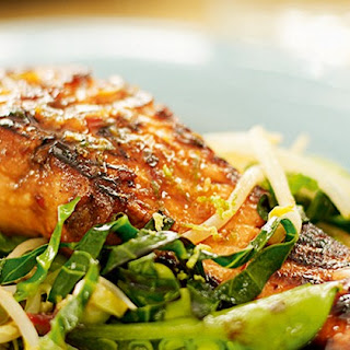 Teriyaki Salmon With Stir-fry Vegetables