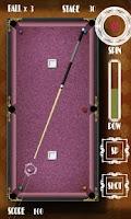 Screenshot of RIRIKO Pocket Billiard