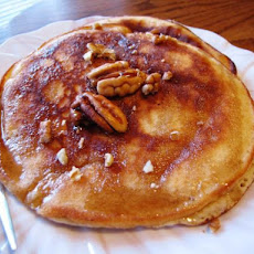 Light Pecan Pancakes