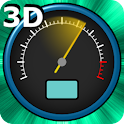 3D Speedometer Live Wallpaper