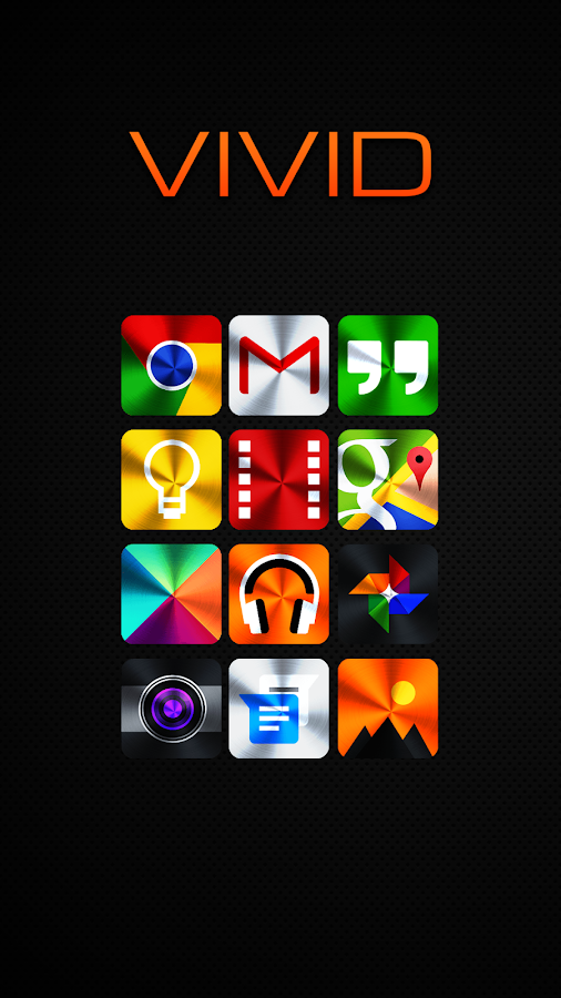 Vivid Icon Pack Screenshot 0