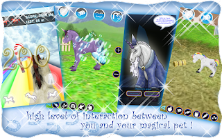 Screenshot of Unicorn Pet