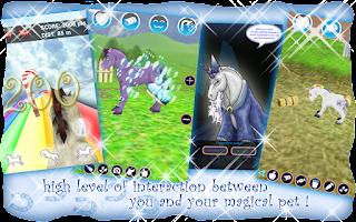 Screenshot of Unicorn Pet