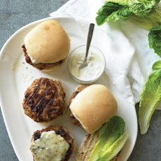 Emeril's Pork-and-Chorizo Burgers with Green-Chile Mayo