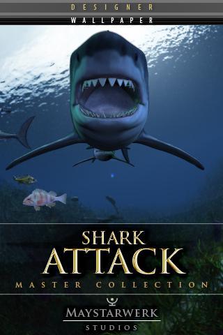 鯊魚襲擊壁紙