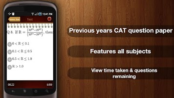 Screenshot of CAT Exam MBA - Pocket Exam