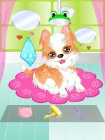 Screenshot of My Cute Puppy Spa Game