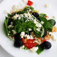 Simple Feta Salad