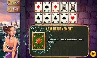 Screenshot of Platinum Solitaire 3