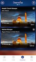Screenshot of Deenwise: Quran Prayer Qibla