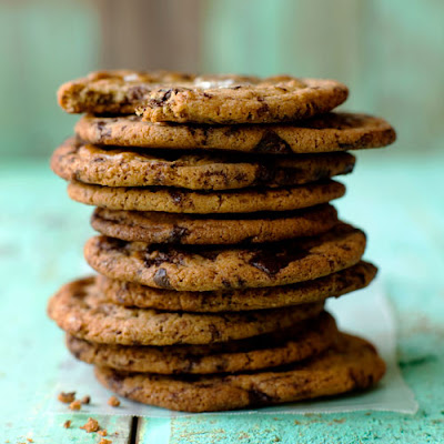 Thousand-Layer Chocolate Chip Cookie