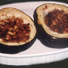 Acorn Squash With Cracker Stuffing