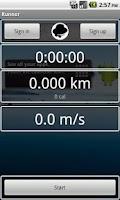 Screenshot of Runner (Jogging tracker)