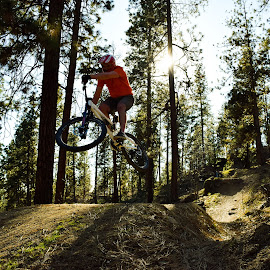 The Perfect Jump by Dimitri Rebich - Sports & Fitness Cycling