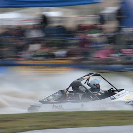 Jet Boats at Wanaka by John Rens - Novices Only Sports (  )