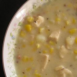 Chicken and Corn Chowder with Thyme