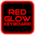 Red Glow Keyboard Skin Pro icon