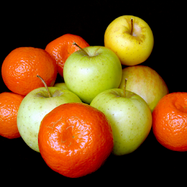 Apples and Oranges by Antonio Amen - Food & Drink Fruits & Vegetables ( fruit, apples, oranges )