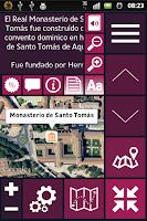 Screenshot of Travel Guide of Avila