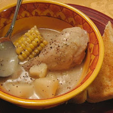 Chicken, Corn, and Potato Stew
