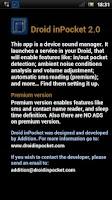 Screenshot of Droid inPocket Free