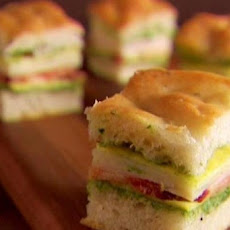 Mini Italian Club Sandwiches