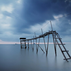 Calm Water At Storm by Andy Teoh - Landscapes Waterscapes ( waterscape, malaysia, scenery, landscape, andyteoh photography )
