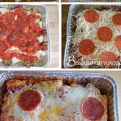 Easy Bubble Pizza